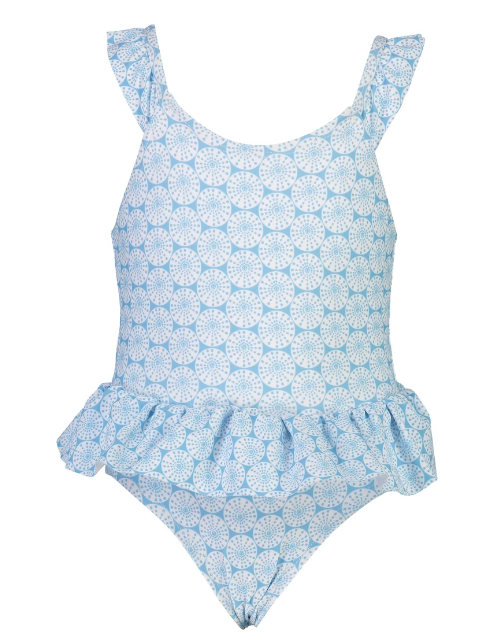 Snapper Rock Oceania Sustainable Ruffle Suit