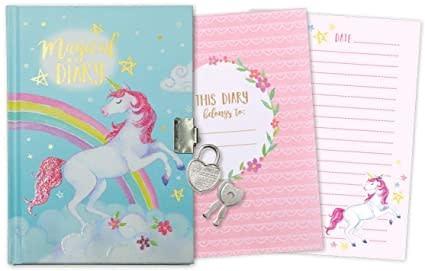 Jewelkeeper Diary with Lock & Key