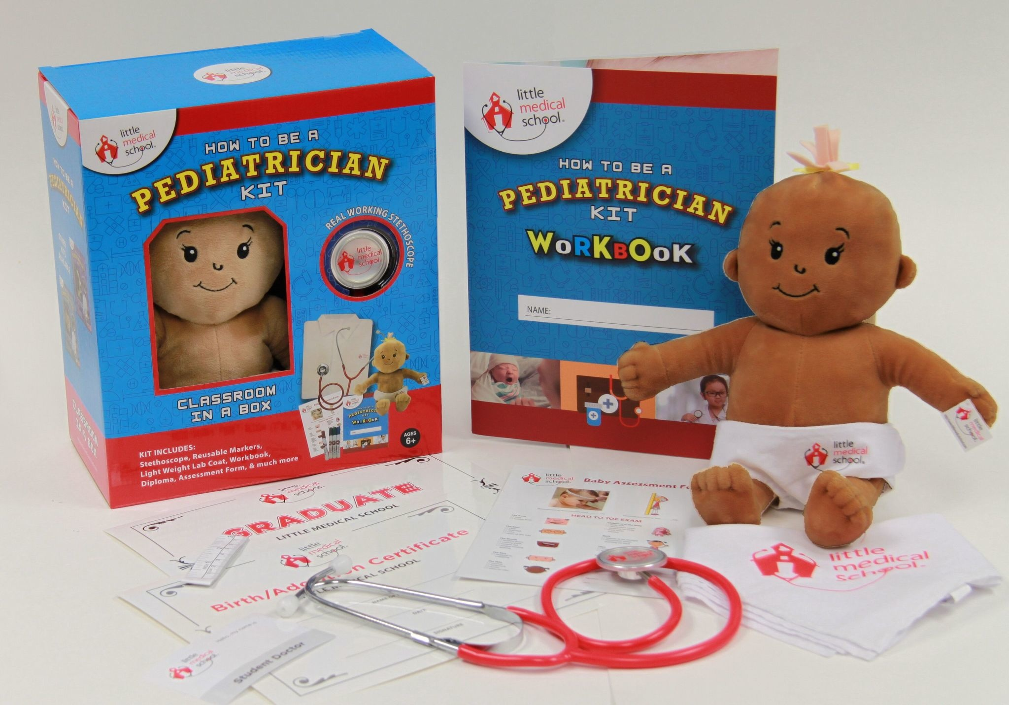 Little Medical School Pediatrician Kit