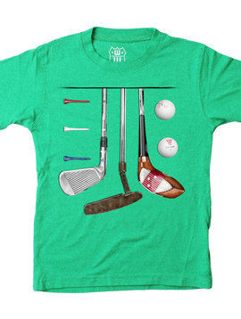 Wes and Willy Clover Golf Tee