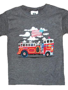 Wes and Willy Firetruck Tee