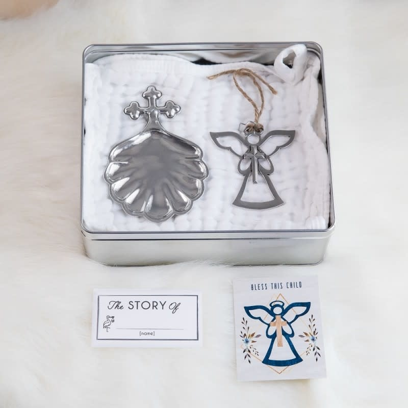 Salisbury Fine Metal Artisans Baptismal Gift Set