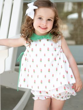 James and Lottie Frannie Watermelons Bloomer Set