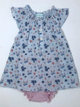 Feather Baby Henley Dress Set