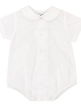 Bailey Boys Boys Piped Short Sleeve Shirt with Snap