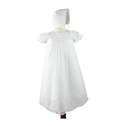 Feltman Brothers Christening Set with Hat 0-3m