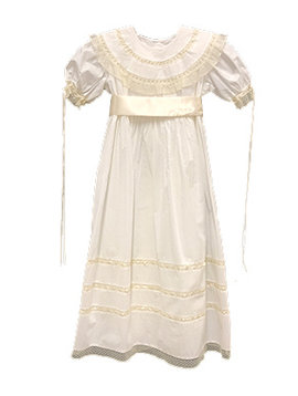 Lullaby Set Round Collar Double Lace Dress