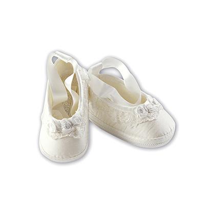 Rosette Crib Shoe