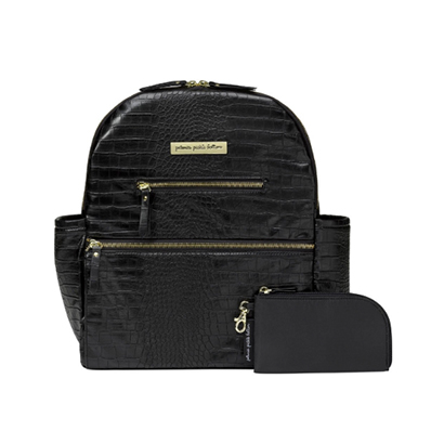 Petunia Pickle Bottom Croc Leatherette Ace Backpack