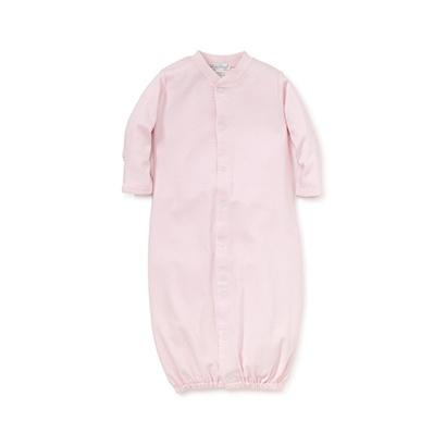 Kissy Kissy Pink Gown with White Trim Preemie