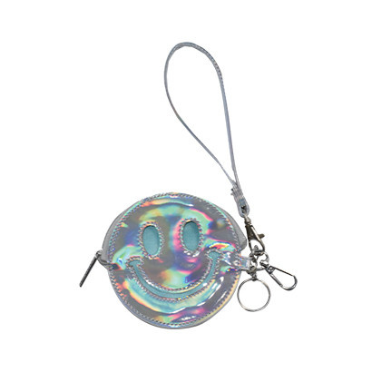 Iscream Holographic Happy Key/Purse