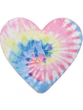 Iscream Tie Dye Heart Scented Pillow