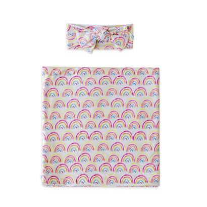 Little Sleepies Swaddle/Hat Gift Set