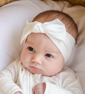 Little Sleepies Pearl Bow Headband