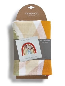 demdaco Rainbow Baby Photo Swaddle