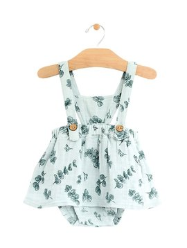 City Mouse Button Pinafore