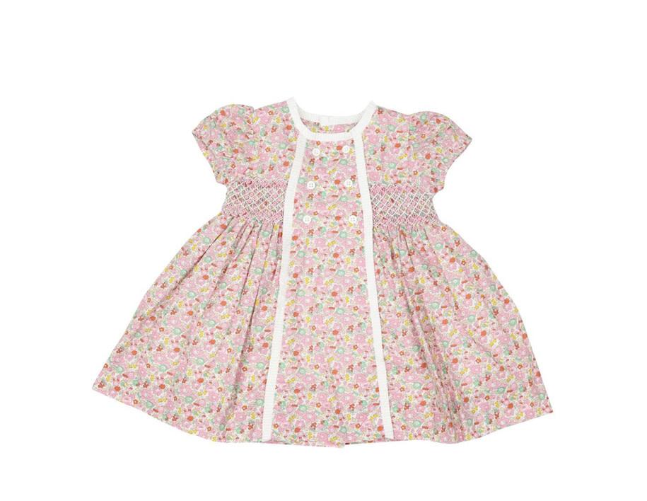 Korango Classic Floral Smocked Dress