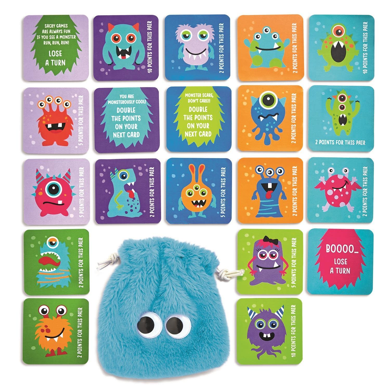 cupcakes & cartwheels Monster Memory Game