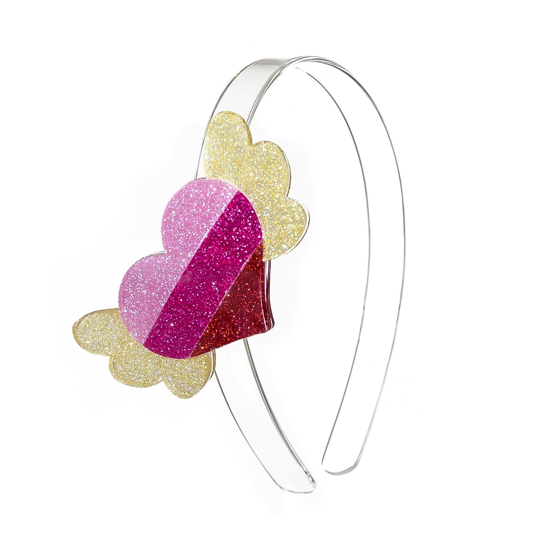 lilies&roses Winged Heart Headband