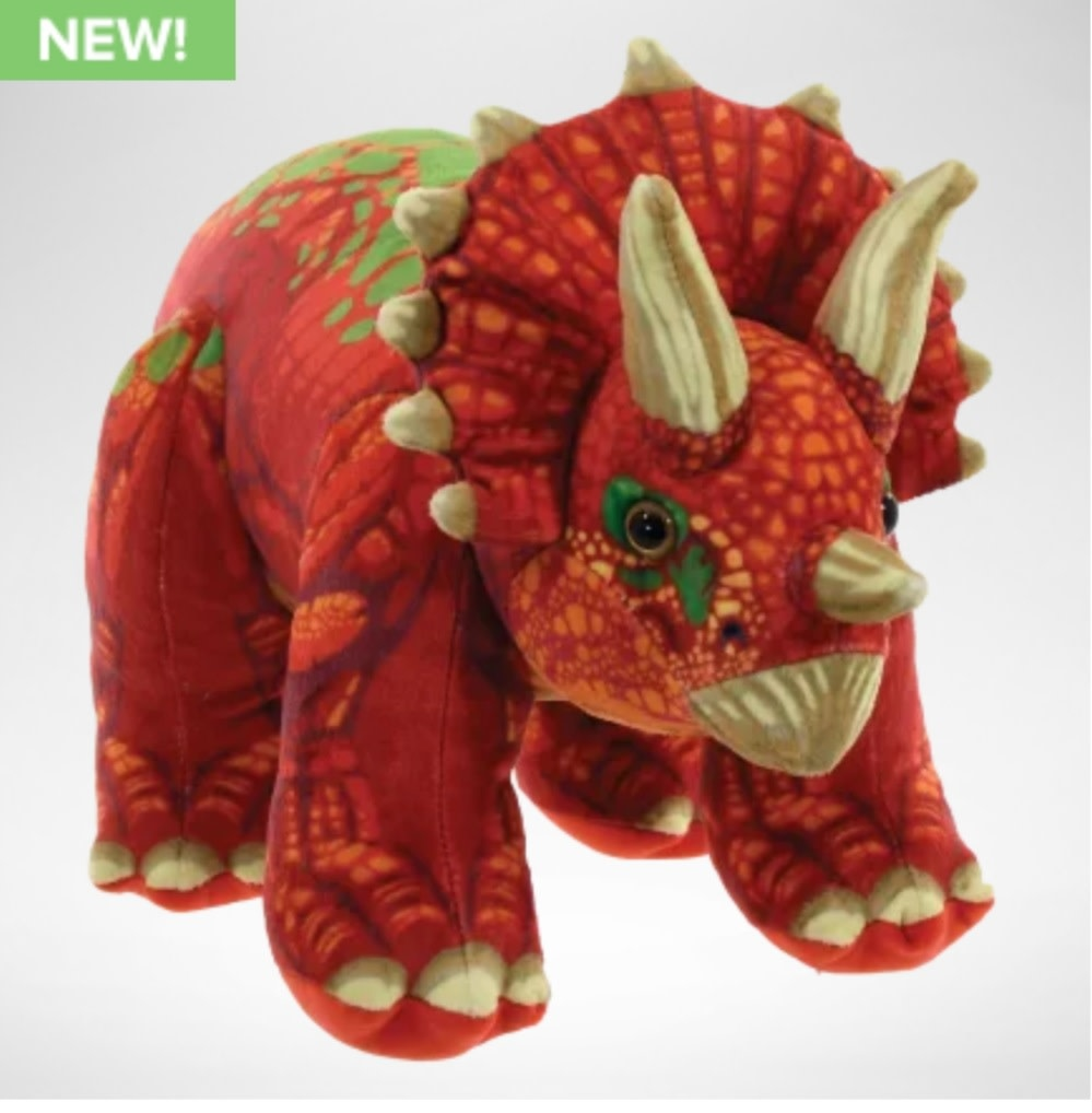 Iscream Triceratops Fleece Dino