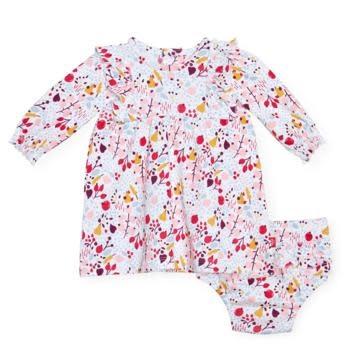 Magnificent Baby Pom Pom Organic Dress Set