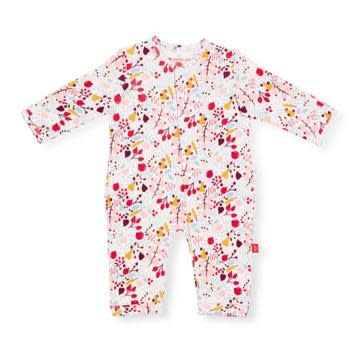 Magnificent Baby Pom Pom Organic Coverall