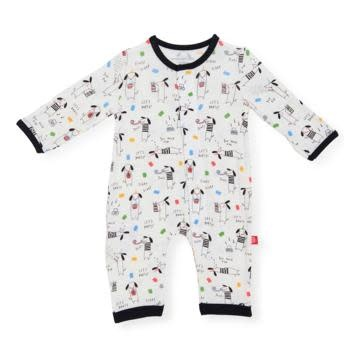 Magnificent Baby Raise the Woof Modal Coverall