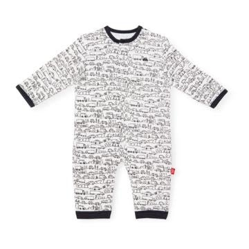 Magnificent Baby Going Places Organic Coverall