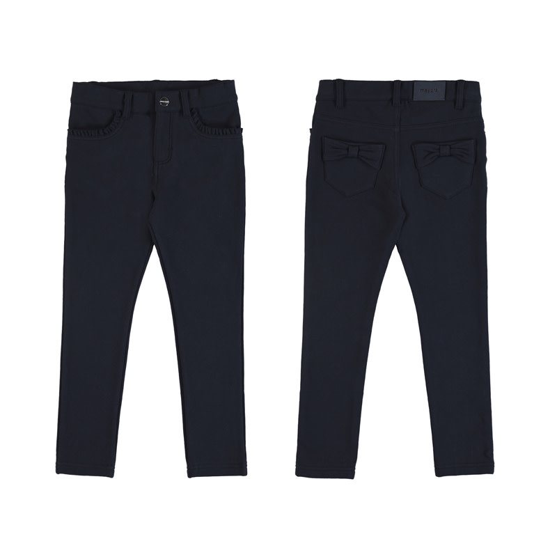 Mayoral Navy Fleece Trousers