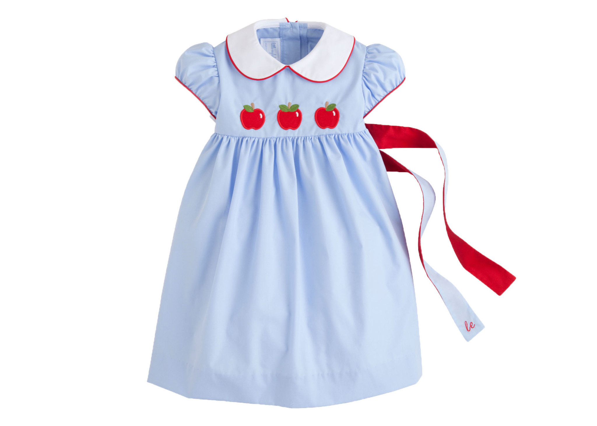 Little English Apple Poppy Peter Pan Dress