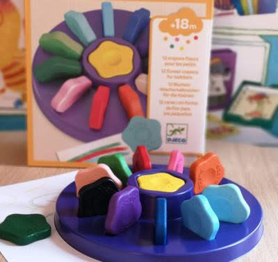 Djeco Flower Crayons