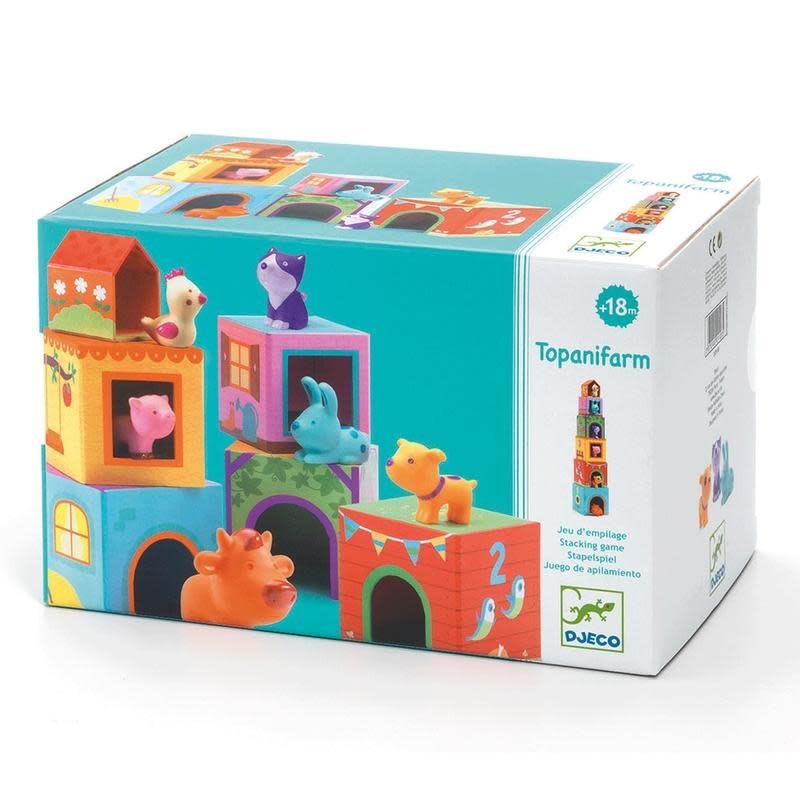 Djeco Blocks & Towers Topanifarm