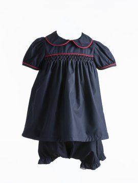The Yellow Lamb Navy Calloway Dress