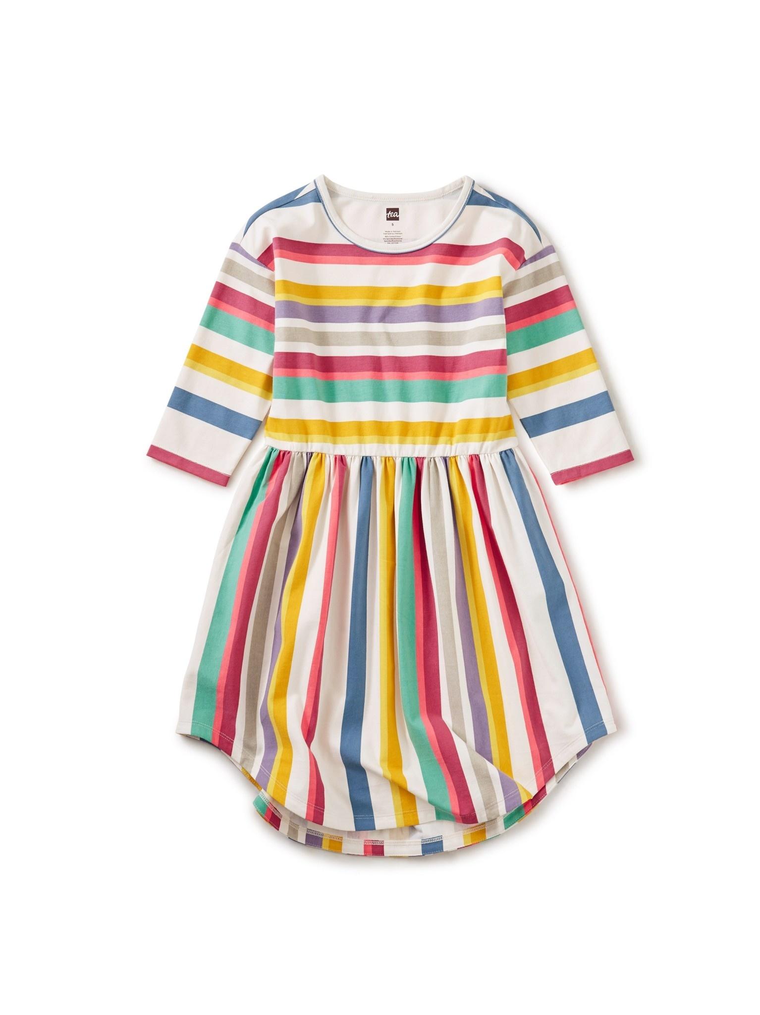 Tea Collection Hi-Lo Midi Dress