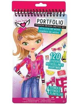Fashion Angels Fashion Design Compact Sketch Portfolio