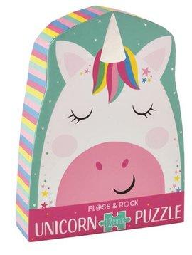 Floss & Rock Rainbow Unicorn 12pc Puzzle
