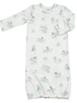 Angel Dear Grey Hippo Gown