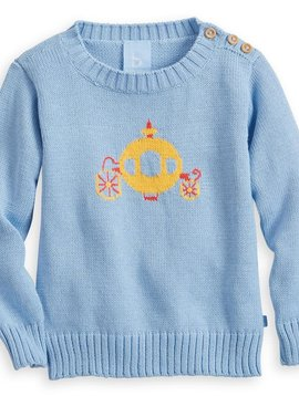 bella bliss Intarsia Carriage Pullover