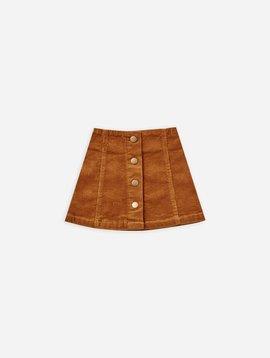 Rylee & Cru Cinnamon Corduroy Mini Skirt