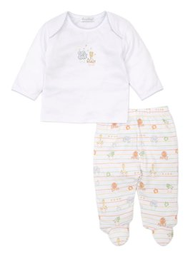 Kissy Kissy Jungle Jesters Footed Pant Set