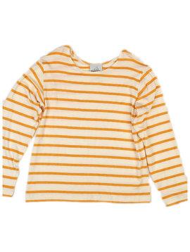 Maggie Breen Yellow Stripe Top