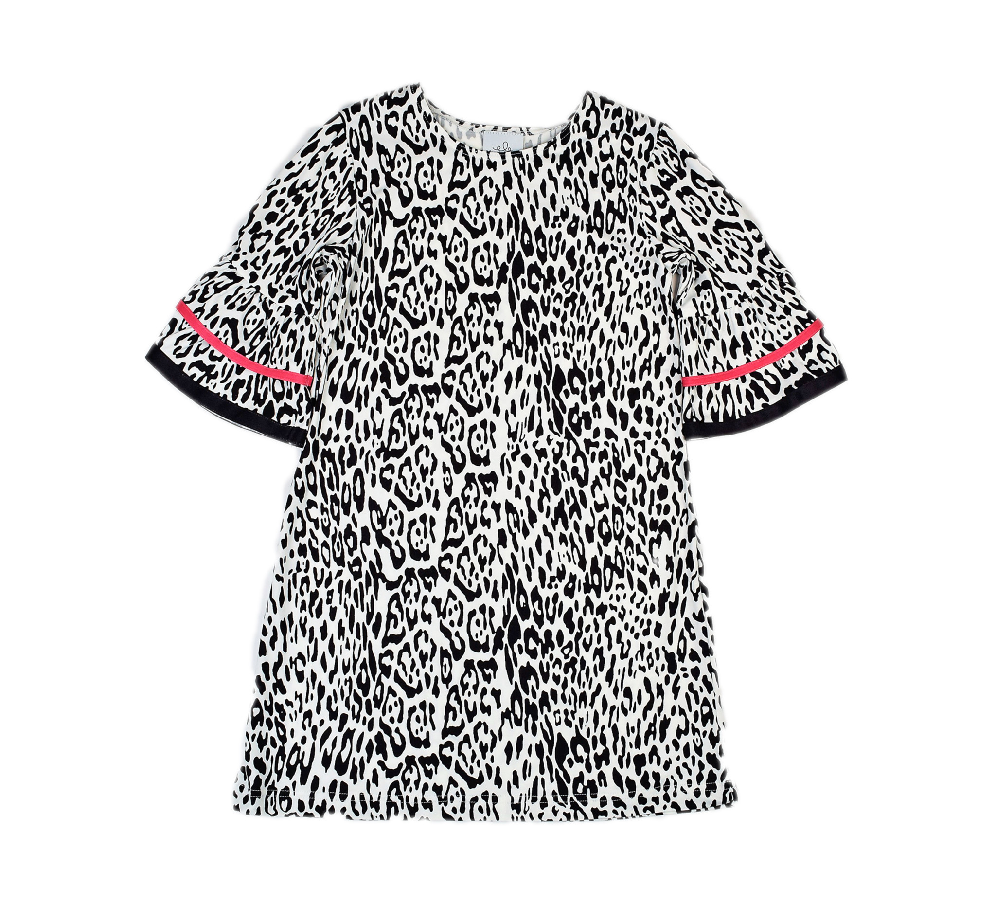 Maggie Breen Animal Print Knit Dress