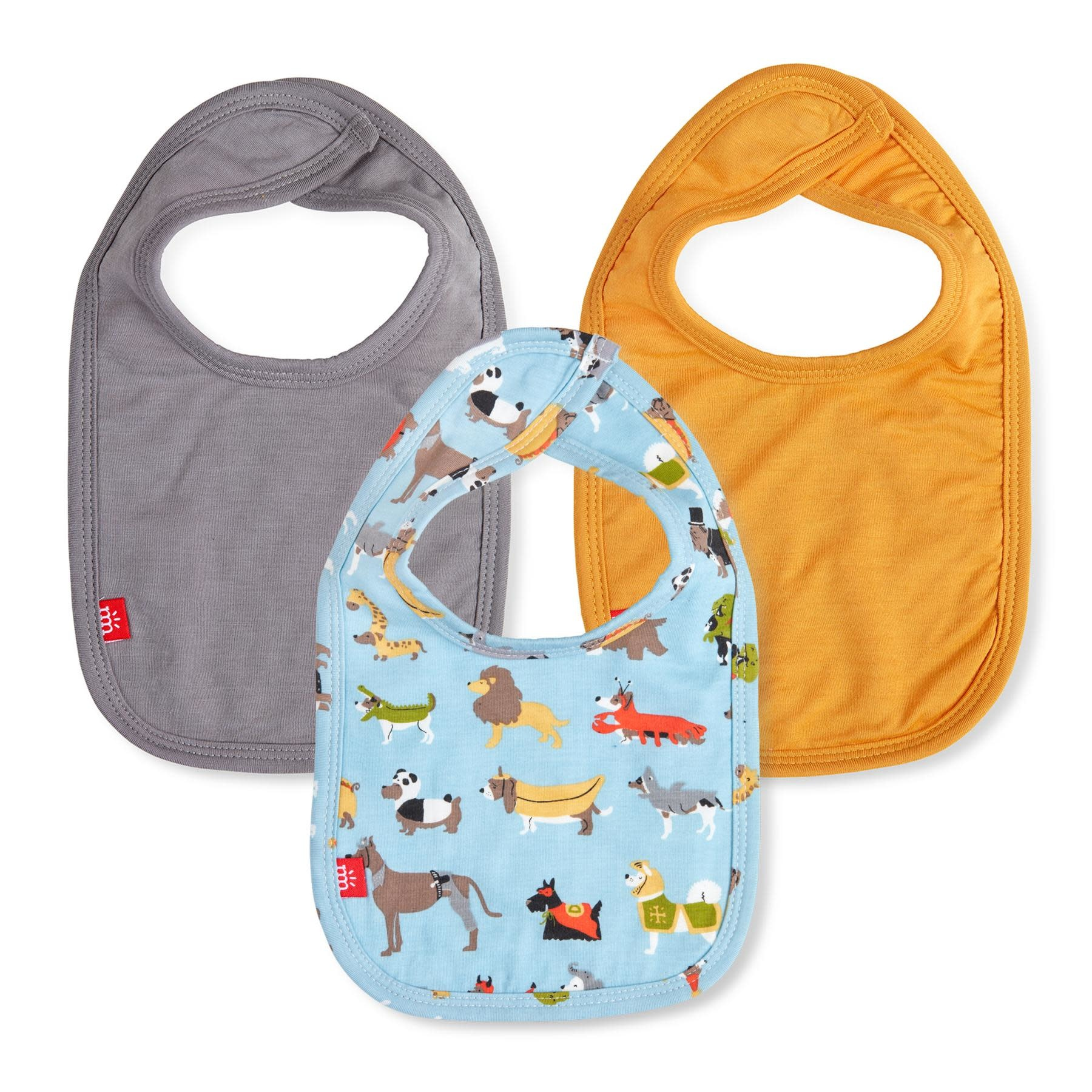 Magnificent Baby 3pk Magnetic Bibs
