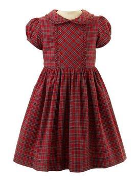 Rachel Riley Tartan Frill Dress