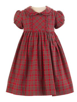 Rachel Riley Tartan Frill Dress/Bloomer