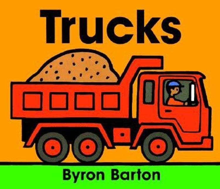 HarperCollins Trucks Board Book