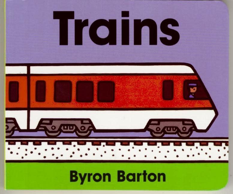 HarperCollins Trains Board Book