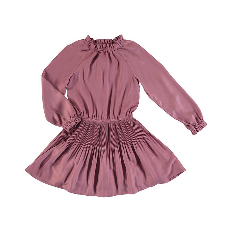 Mayoral Grape Satin Dress