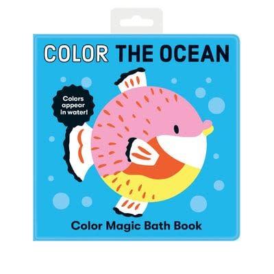 mudpuppy Color Magic Bath Book