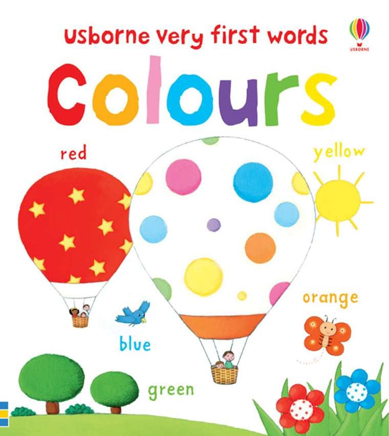 EDC/Usborne Very First Words Colors